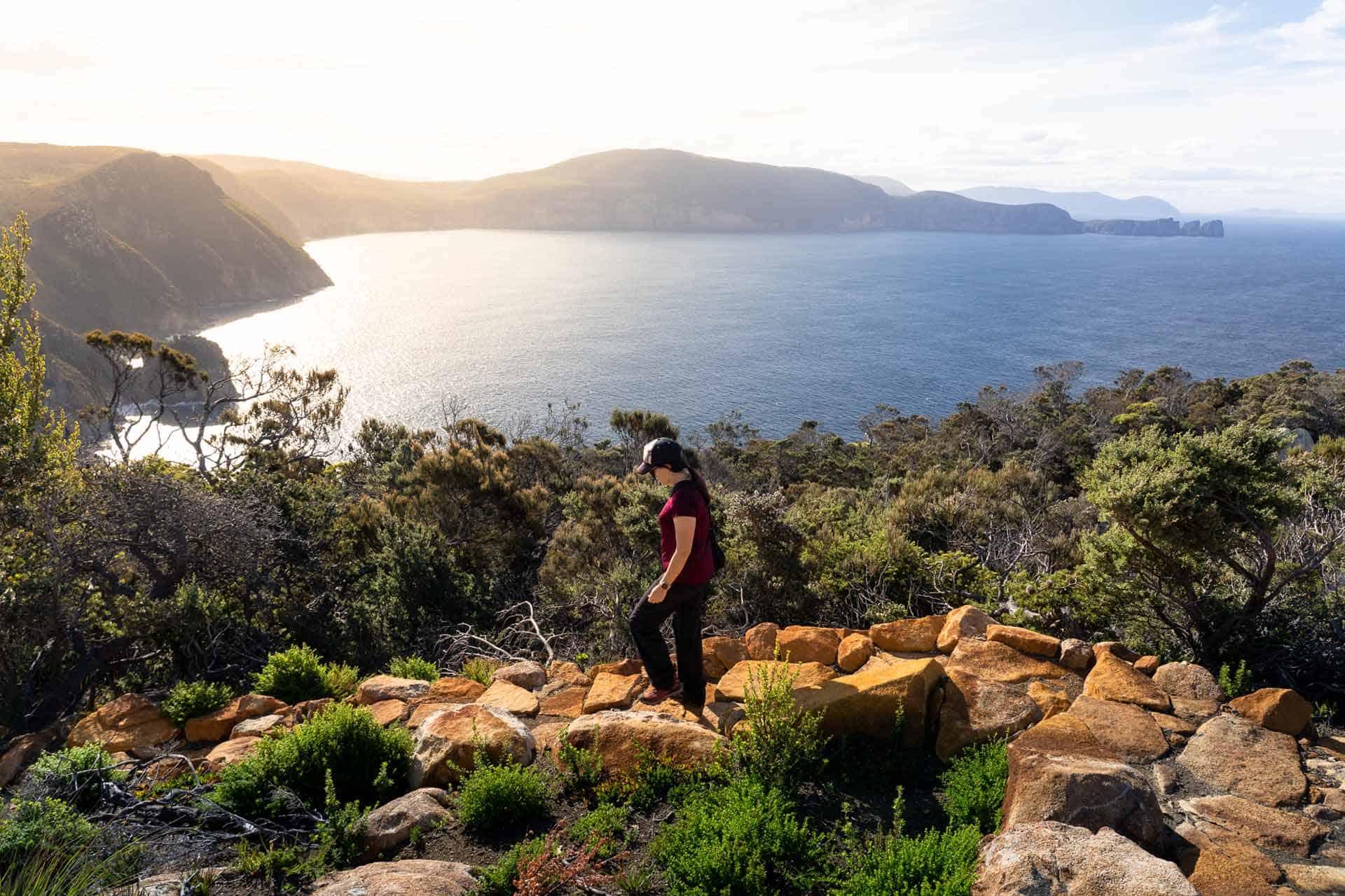 Hiking Three Capes Track