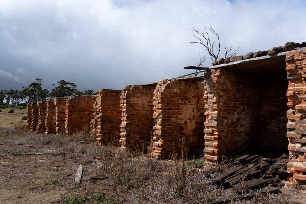 Encampment Cove Convict Cells Maria Island
