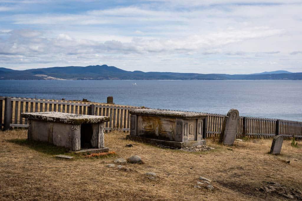 Cemetery On Maria Island