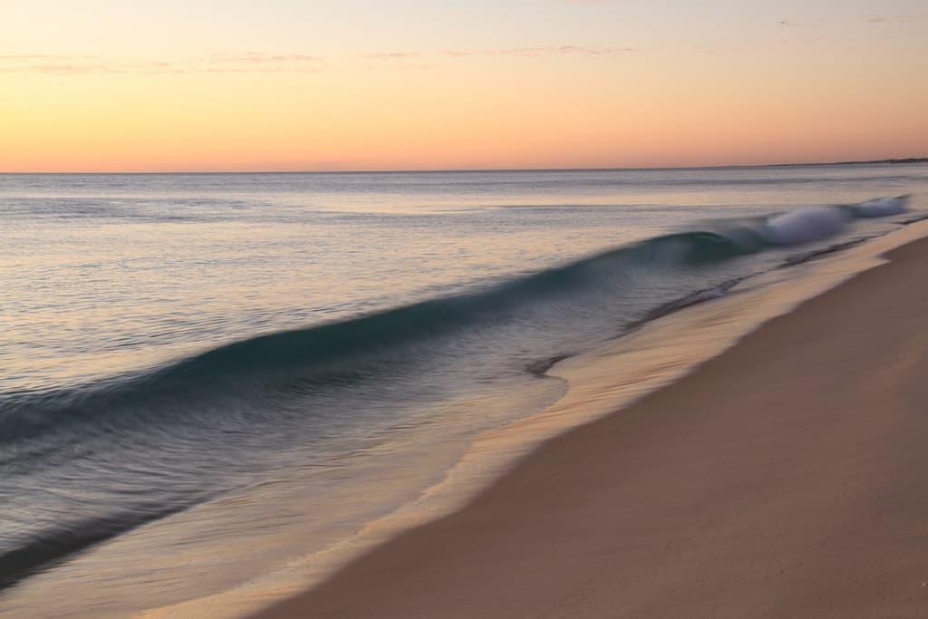 Sunset Over Swanborne Beach