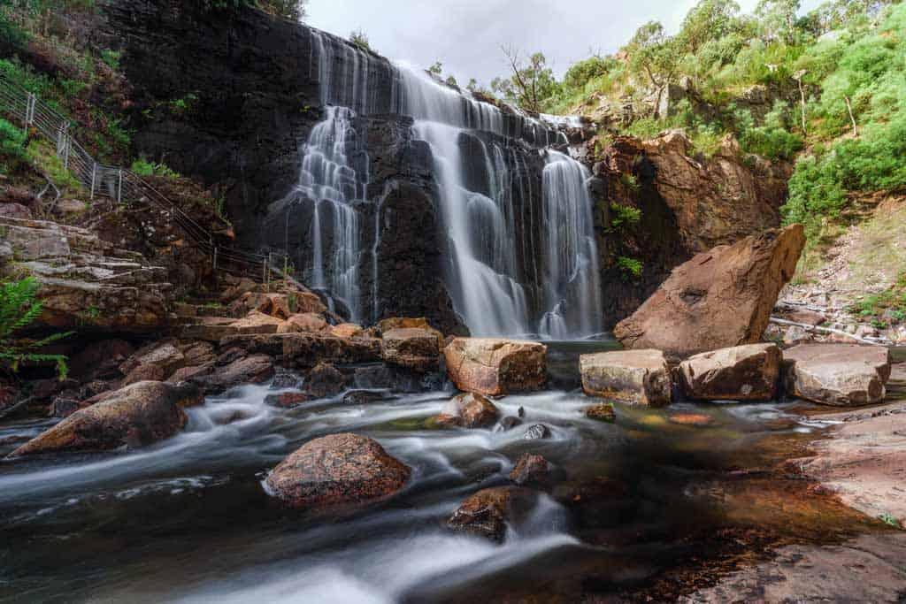 Waterfall Grampians Circular Polariser Filter
