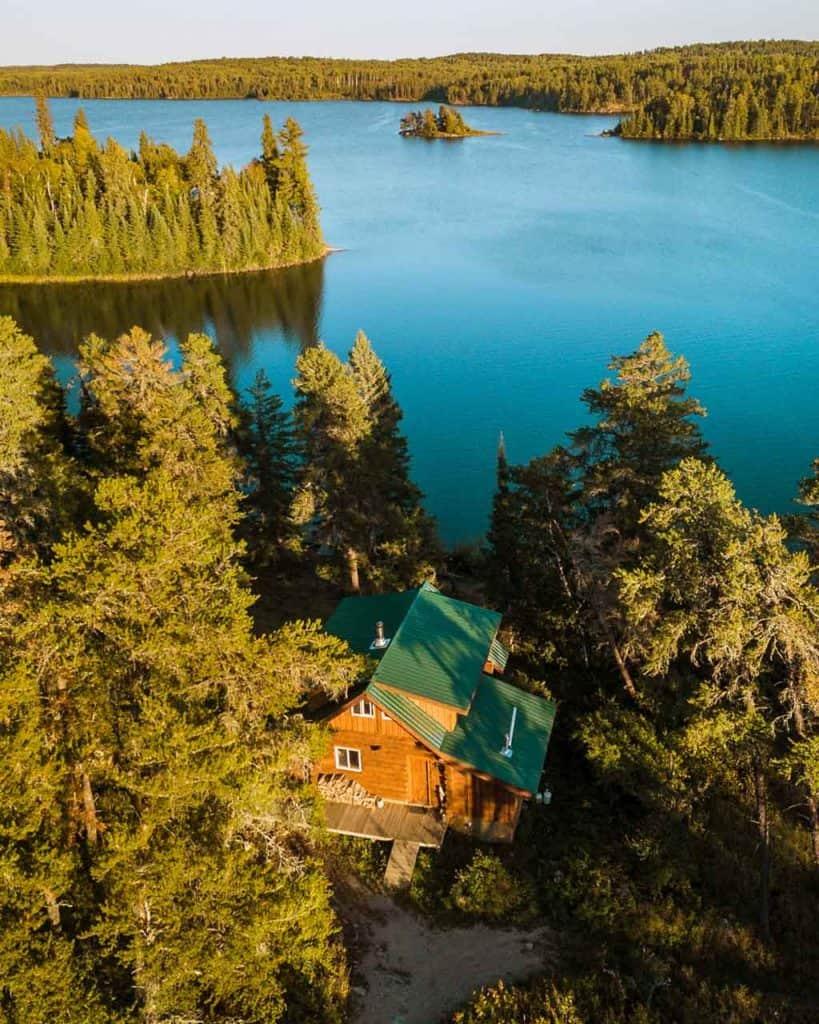 Log Cabin Manitoba