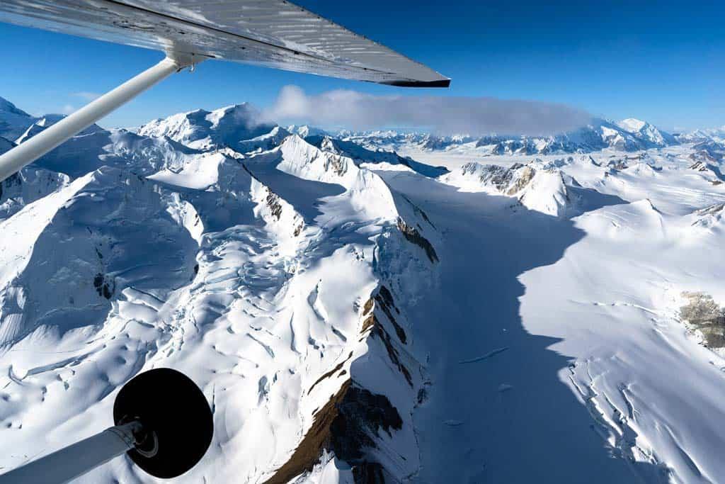 Scenic Flight Kluane National Park