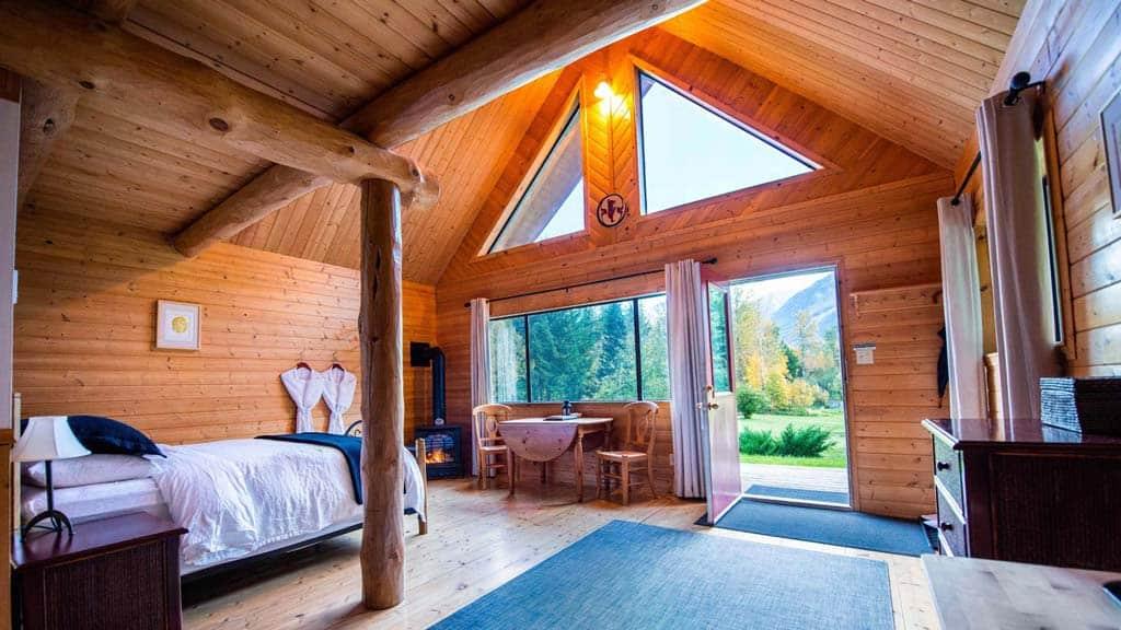 Tweedsmuir Park Lodge Interior
