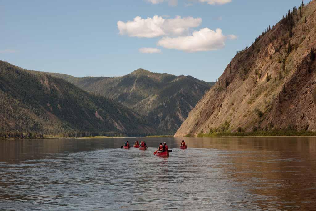 Yukon River Canoe Trip Ruby Range