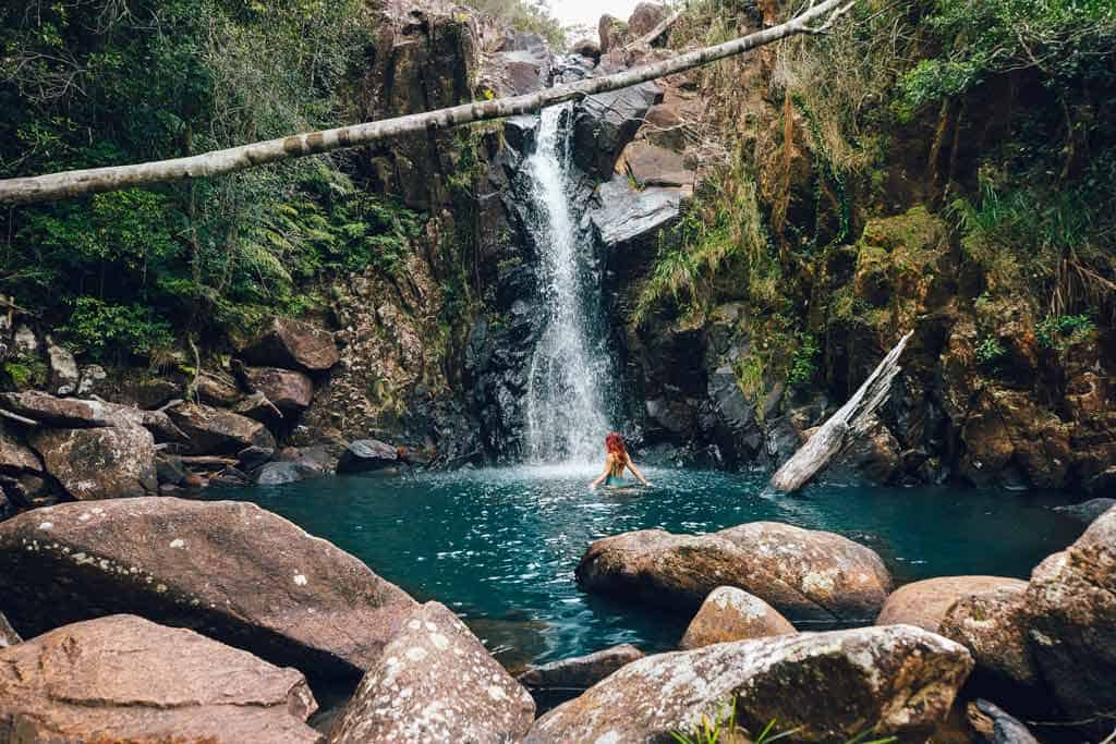 Ethel Creek Falls Townsville Queensland